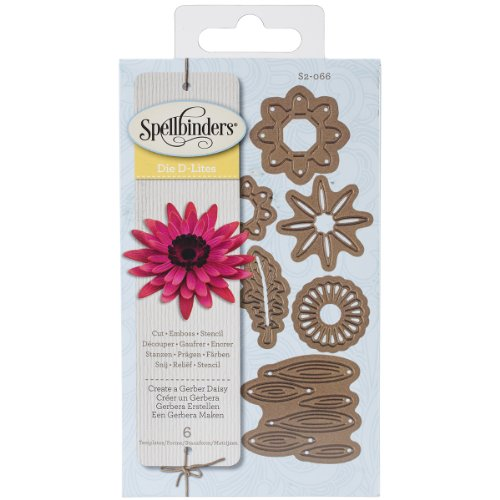 Spellbinders S2-066 Shapeabilities 'Create a Gerber Daisy' Scrapbooking (Edgeabilities Dies)