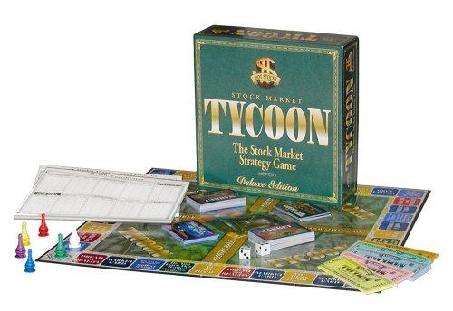 Stock Market Tycoon Board Game by Vida