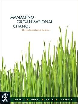Book Managing Organisational Change