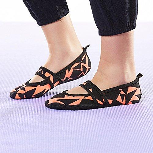 Lou Geo Zapatos Betsy nbsp;– Para Nufoot Pink Mujer nbsp;neopreno Slipper wxqfCXHA