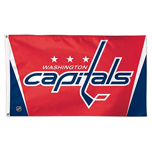 WinCraft NHL Washington Capitals Deluxe Flag, 3' x 5'