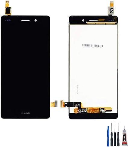 CHRONOSTOCKS ECRAN LCD + VITRE Tactile pour Huawei P8 Lite Noir + Outils + Colle