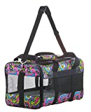 Sherpa Original Deluxe Floral Pet Carrier, Small, Multi Colored