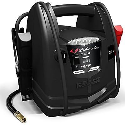 Schumacher SJ1290 1000A 12V Jump Starter with Air Compressor