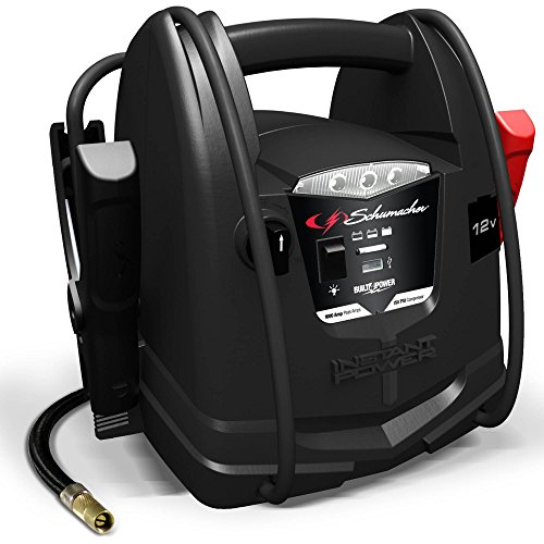Price comparison product image Schumacher SJ1290 1000A 12V Jump Starter with Air Compressor