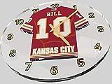 FanPlastic Tyreek Hill 10 Kansas City Chiefs Wall Clock - National Football League Legends Edition !!