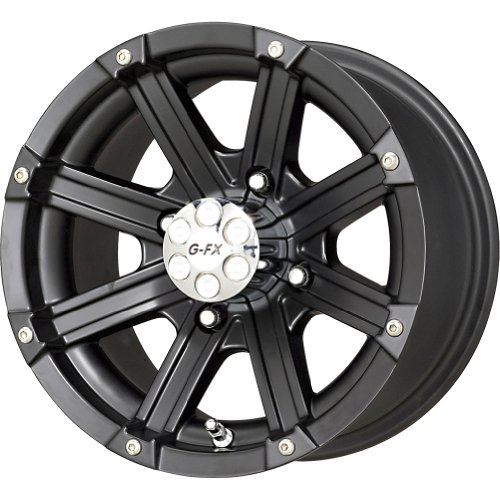 Dbl G Wheels (G-FX Double Barrel Matte Black Wheel (12x7/4x110mm))
