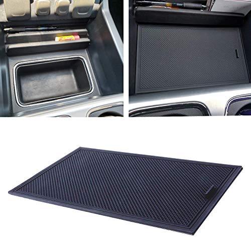 Tray Front Cover - JDMCAR Hidden Compartment Cover Center Console Organizer Tray for 2014-2018 GMC Sierra 1500 2500HD 3500HD Denali Chevy Silverado Accessories