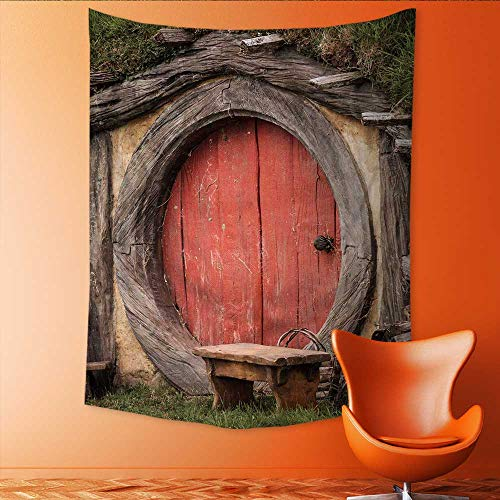 - Vertical Version Tapestry fbb Maison Hobbit Paul liu fotolia com Throw, Bed, Tapestry, or Yoga Blanket 60W x 91L INCH