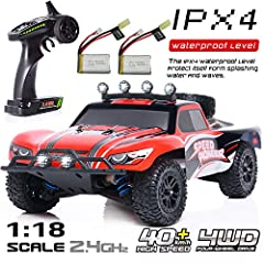 Why should you choose EXERCISE N PLAY CarFire Remote Control Car? Amazingly Fast: Fast, high speed and powerful motors allow you to reach speed of up to40+km/h. More Fun: Enjoy miniature off-road toy car, much fun compared to 2WD series. Long...