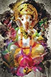 Watercolor Ganesha: Blank Lined Notebook, Journal or Diary