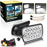 87 toyota truck - LIMICAR 2X 7x6 5x7 Led Headlights High/Low Sealed Beam Led Headlamps H6054 with H4 Headlight Relay Harness Kit For 95-97 Toyota Tacoma 88-95 Toyota Pickup Toyota 84-91 Toyota 4Runner Chevy Express Van