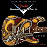 img - for Fender Custom Shop Guitar 2012 Mini (calendar) book / textbook / text book