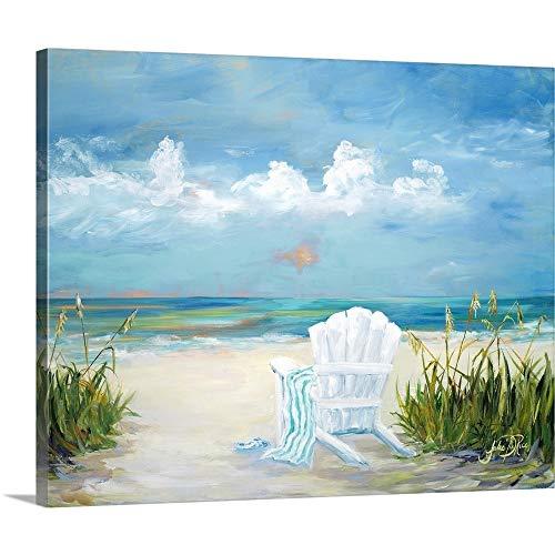 Beach Scene II Canvas Wall Art Print, 20 x16 x1.25