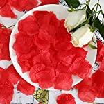 Packozy-2000pcs-Artificial-Silk-Rose-Petals-19-x-18-inch-for-Wedding-Party-Home-Decoration-Red
