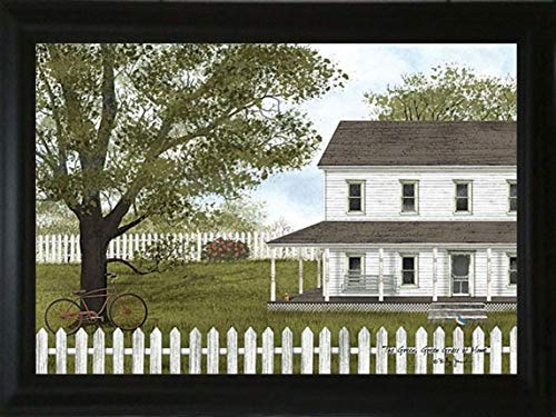 TOD INC Green Green Grass of Home - Framed Art by Billy Jacobs!!