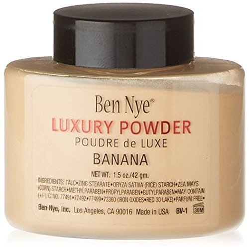 BananaBanana Luxury Powder, Ben Nye Banana, 1.5 oz./42 g