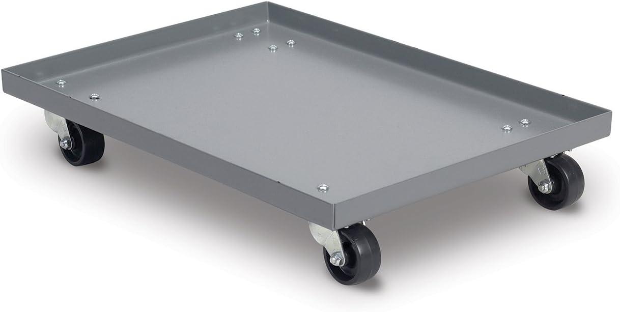 Grey Akro-Mils RU843TP2227 Powder Coated Steel Panel Dolly for 30292 Super Size AkroBin