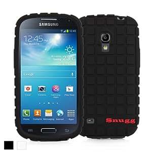 Snugg Galaxy S4 Mini Silicone Case in Black - Non-Slip Material, Protective Lightweight Case for Samsung Galaxy S4 Mini