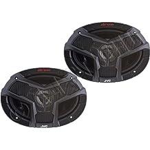 JVC CSV6938 6-Inch x 9-Inch 3-Way Coaxial Speakers 400W Peak (Pair)