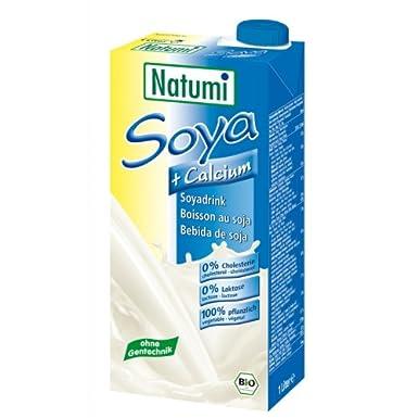 Bebida de Soja Calcio bio Natumi, 1 litro: Amazon.es: Alimentación ...