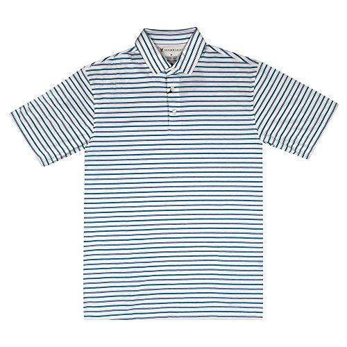 Oxford Surrey DRI Release Multi Stripe Jersey Golf Polo