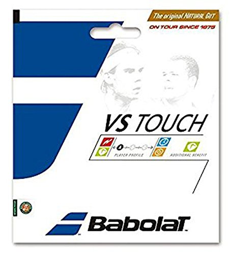 Babolat VS Touch BT7 Tennis String (12m), Natural, 130/16 x - Tennis Natural