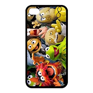 Custom The Muppets (film) iPhone 4,4S TPU Shell Case Cover White&Black(HD image)