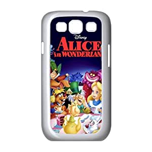 Samsung Galaxy S3 9300 Cell Phone Case White Alice in Wonderland Character Alice IGU Design Unique Phone Case