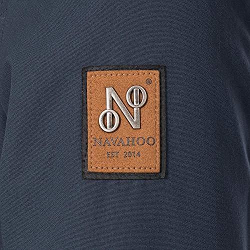 Femme Navahoo Navahoo Manteau Bleu Manteau w6Oqx6