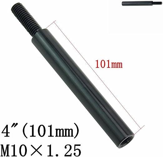 50mm Schaltstange Verlängerung M10x1.25 Shift Extension NISSAN MAZDA SILBER