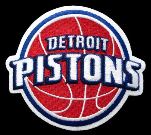 NBA Team Logo Patch NBA Team: Detroit Pistons - 2006 Logo ()