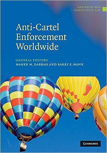 Anti-Cartel Enforcement Worldwide 3 Volume Hardback Set ...