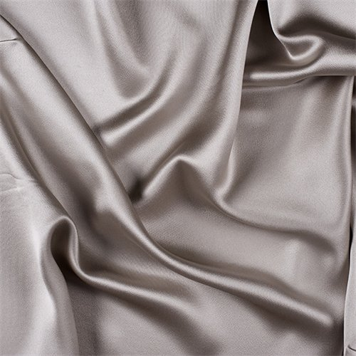 Light Taupe Silk Crepe Back Satin, Fabric by The Yard ()