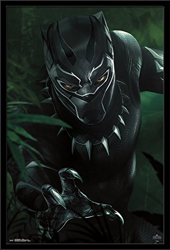 Trends International Black Panther-T'Challa Wall Poster, 24.