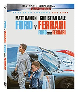 Ford v Ferrari (BD + Digital Code) [Blu-ray] (Bilingual) (B0833XJZKR) | Amazon price tracker / tracking, Amazon price history charts, Amazon price watches, Amazon price drop alerts