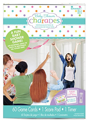 Baby Shower Charades (Amscan Baby Shower Charades)