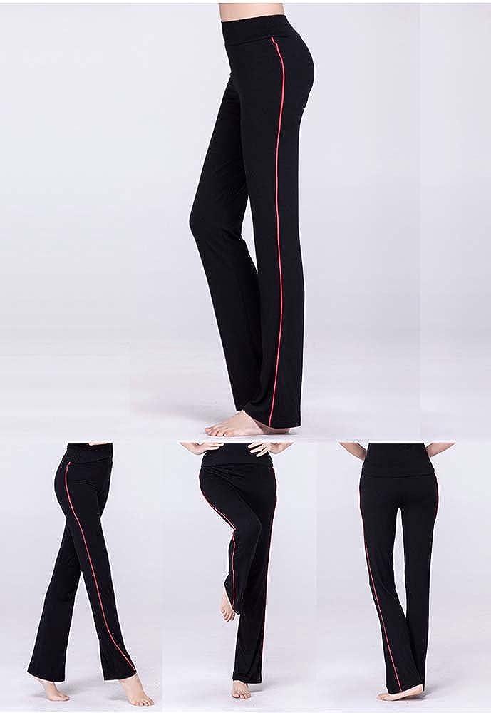 Mujer Pantalones De Yoga De Cintura Alta Para Mujer Pantalones De Pierna Recta Casual Para Pilates Con Tiras Laterales Ejercicios De Gimnasia Elastica Fitness Running Joggers Deportes Y Aire Libre Centrocen Cl