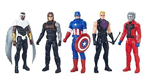 Marvel Avenger's Titan Hero Series Exclusive 5 Figure Set