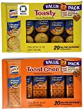 Lance Toasty and Toastchee Assorted Sandwich Crackers, 40 Count.