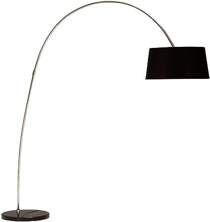 Stehlampe FORMA schwarz gold Bogenlampe Marmor Bogenleuchte Stehleuchte Lampe