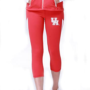 2a20cec13bd1dc Amazon.com : Twin Vision Activewear Houston Cougars Ncaa Womens Yoga Pant  (red) (medium) : Beauty