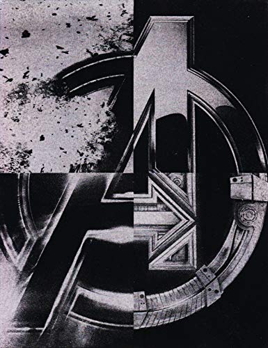 """Avengers all 4 Movies Metal""""A"""" Poster"""