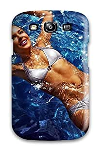 New Style FashionE-Space Swimming Pool Girl Premium Tpu Cover Case For Galaxy S3