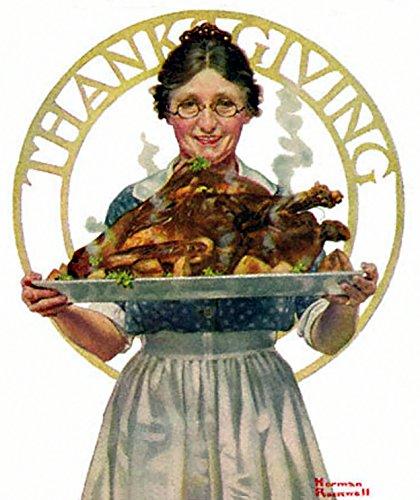 Thanksgiving Norman Rockwell Art Print (1919)