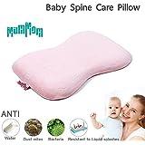 "MumMom-Baby Foam Pillow Head Shaping 10""x17""x1.2"" (Pink)"