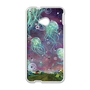 LTTcase Custom Jellyfish Phone Case for HTC one m7