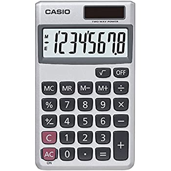 com casio sl sv solar powered standard function  casio sl 300sv solar powered standard function calculator