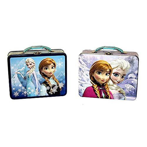 Frozen Anna and Elsa Tin Lunch Box (Pick Your Style)