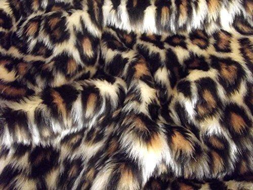 Minicraft beb/é Leopardo Fun Fur marr/ón//Beige 75/x 50/cm